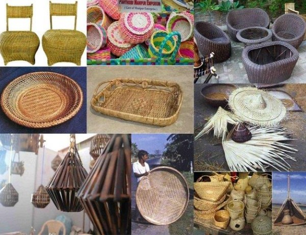 BambooCane crafts of Northeast India