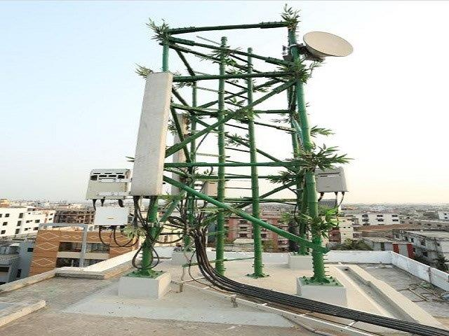 Bangaladesh Bamboo Cell tower