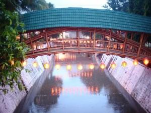 Bamboo Bridge Indonesia 1