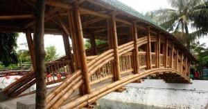 Bamboo Bridge Indonesia