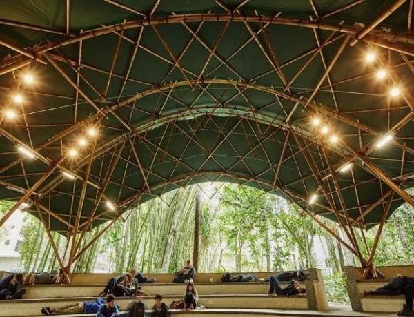 Bamboo-Amphitheater